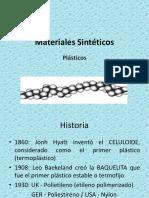 materiales sinteticos