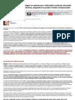 CJUE a Decis_ Statul e Obligat Sa Ramburseze Cheltuielile Medicale Efectuate in Strainatate, Daca, In Romania, Asiguratul Nu Poate Fi Tratat Corespunzator