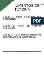 INSTRUMENTOS DE TUTORÍA