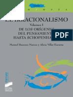 El irracionalismo. Vol. I - Manuel Suances Marcos & Alicia Villar Escurra.pdf