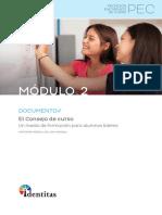 Módulo 2 Documento El Consejo de curso