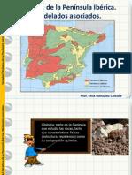 Litología y modelados de la Península Ibérica