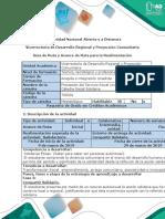 Guía de ruta y avance de ruta para la realimentación - Fase 3 - Compartiendo acciones solidarias.docx