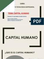 5. El Capital Humano