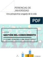 Experiencias de Universidad