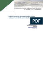 Fundacion Bariloche Vigencia Del MMLA
