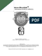 Manual IR-622 Combustible Detcon