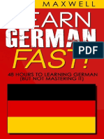 Learn German Fast