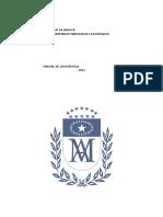 Materia y Metodos de Separacion