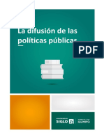 La Difusión de Las Políticas Públicas