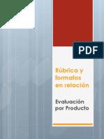 Rúbrica y formatos en relación.pptx
