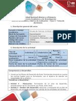 Guía de actividades y rúbrica de evaluación - Fase 3 - Elaborar un plan de desarrollo.docx