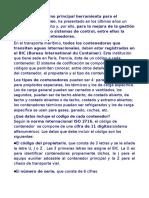 Codificación Del ContenCODIFICACION DE CONTENEDORESedor