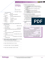 A2 UNIT 4 Extra Grammar Practice Revision