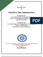 B-Plan on Innovatice,idea,Implementation