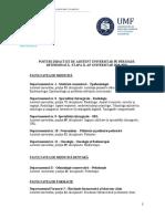 Publicatie de Concurs Asistent Determinata Etapa II 2018 - 2019