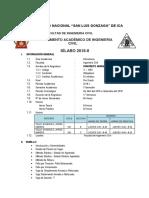 Sillabus Concreto i 2019 i