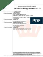 Recomendación de Productos Jeep (USA _ CAN) Renegade BU Renegade 2.4 (2015 y Después)