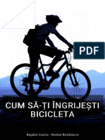 Cum Sa Ingrijesti Bicicleta