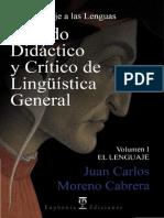 Tratado Didáctico y Crítico de Lingüística I