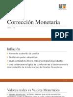 Corrección Monetaria
