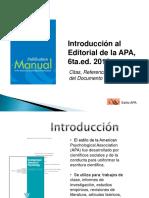 Diapositivas Normas Apa 6ta Ed. 2010