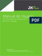 Nuevo Firmware 2 8 3 3 5 Manual de Usuario
