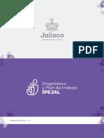 Diagnóstico y Plan de Trabajo para rescatar al IPEJAL
