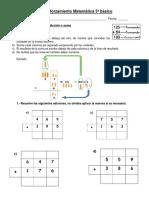 Guía Reforzamiento Matemática 3º Básico