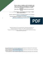 Comparación simulacion deflexiones contra cuencos reales
