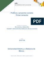 Unidad 1. Economia y Desarrollo