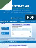 Solicitud de Contratación - Tabla VNR y Vinculación de Proyectos de Obra.pptx