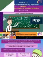 AI3. Algebrando La Vida/Módulo 11