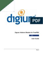Digium Addons Module for FreePBX User Guide