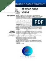 1XTech®  Aluminum Duplex, Triplex, Quadruplex Service Drop Cable PDF Specification