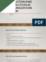 Evolution and Revolution as Organizations Grow
