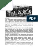 Historia Del Atletismo Nacional e Internacional