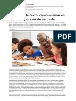 Producao de Texto Como Ensinar Os Alunos a Escrever de Verdadepdf