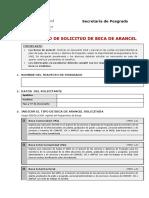 Formulario Beca Total Doctoral (Cohorte 2019)
