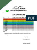 المعهد الاسلامى السلفى الحيدر(Jadwal Piket).docx