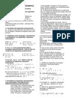 Primera Práctica de Matemática