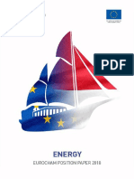 EuroCham Position Paper 2018 - Energy Working Group