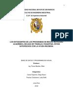 Trabajo de Investigación - Base de Datos - Estandar 41 - UNMSM