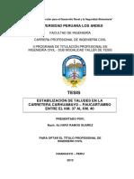 Estabilizacion de Taludes en la Carretera Carhuamayo - Paucartambo.pdf