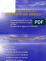 Lógica Jurídica presentación lección 1