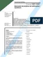 NBR 13532 - 1995 - Elaboração de projetos de edificações - Arquitetura.pdf