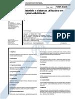 NBR 8083 - 1983 - Materiais e sistemas utilizados em impermeabilização.pdf