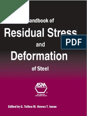 Handbook of Residual Stress and Deformation of Steel.pdf ... on