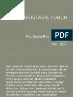 Homeostasis Tubuh