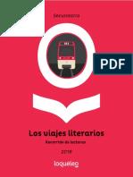 Proyecto Lector Los Viajes Literarios Secundaria 2018-1-1